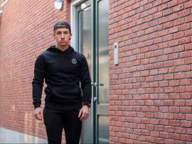 gf black hoodie