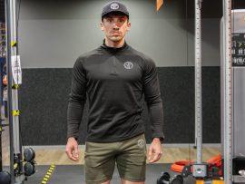 muscle fit sportsweater
