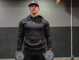 gf black premium hoodie