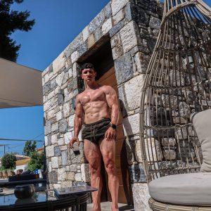 in shape op vakantie