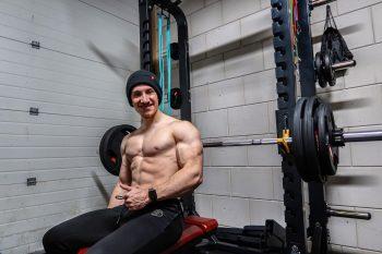 sporten in de gym